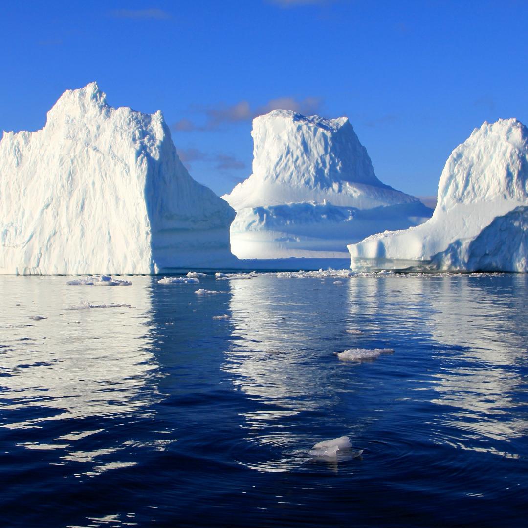 Unter der Spitze des Eisbergs gibt es viel zu ergründen