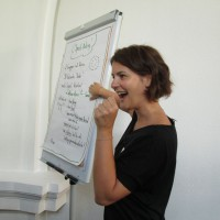 Nicole Schmidt in Action :-)