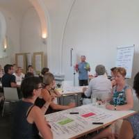 Das World Café zum Thema Großgruppenmoderation